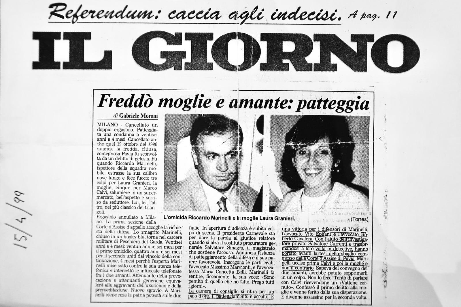 Articolo di giornale su Currenti Investigazioni Pavia foto 4