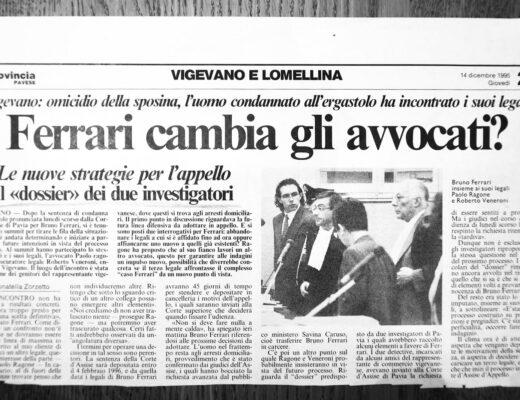 Articolo di giornale su Currenti Investigazioni Pavia foto 2